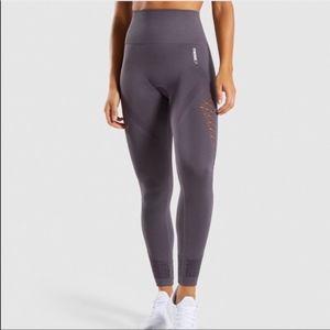 Gymshark Seamless Energy Leggings Slate Lavender